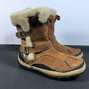 Merrel Taiga Buckle Waterproof Boots.